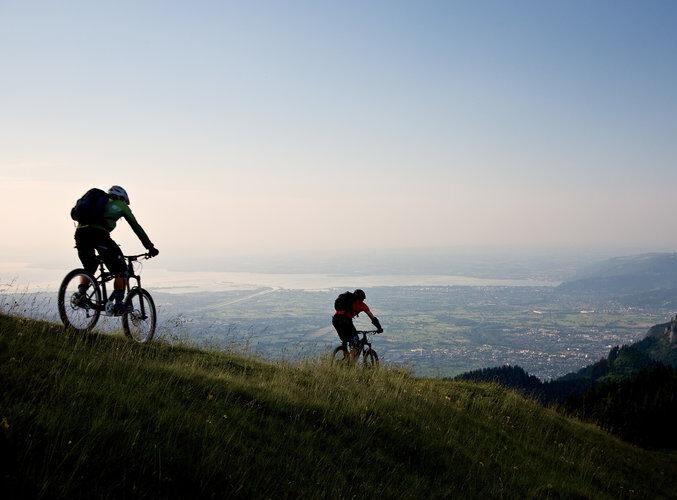 Biken Hohe Kugel (c) Florian Strigel - Vorarlberg Tourismus